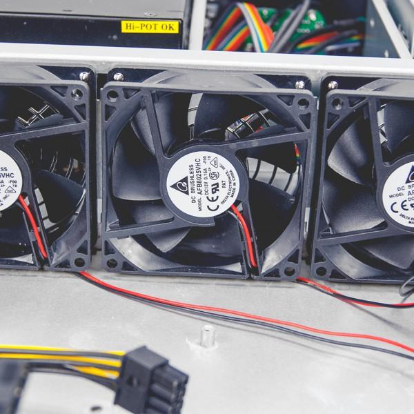 4ре вентилятора 80мм