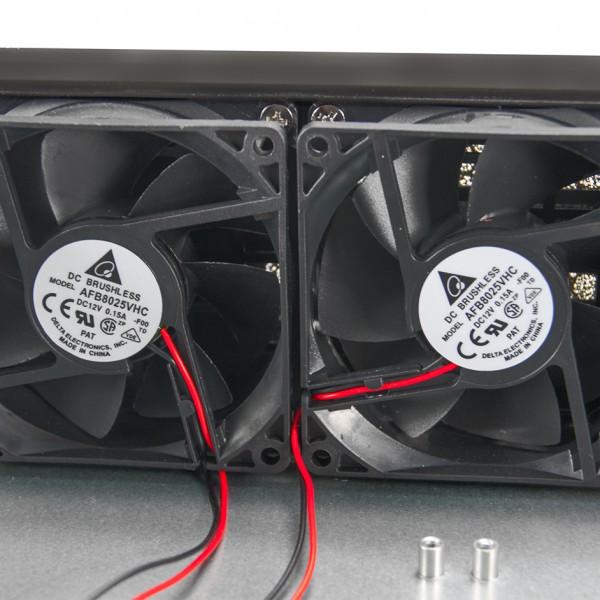 2 вентилятора 60мм
