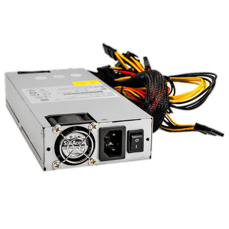 Блок питания 1U ATX NR-4011P-1M1 400Вт , активный PFC, EPS12V, 1U, КПД 80%, Negorack