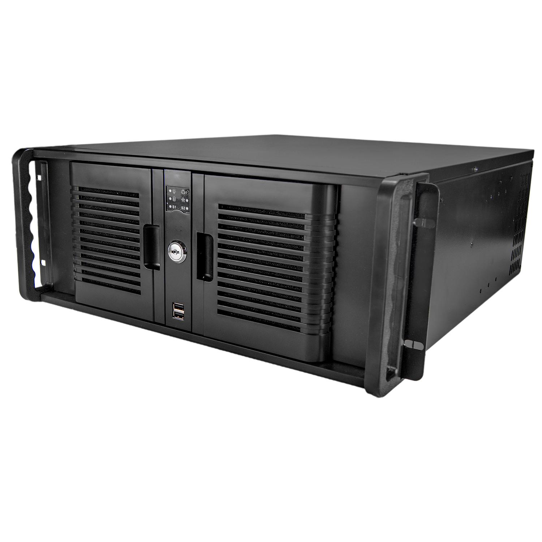Серверный корпус 4U NR-N4800 2x600W (ATX 9x12, 4x5.25ext, 1x3.5ext, 2x3.5int, 528мм) черный, NegoRac