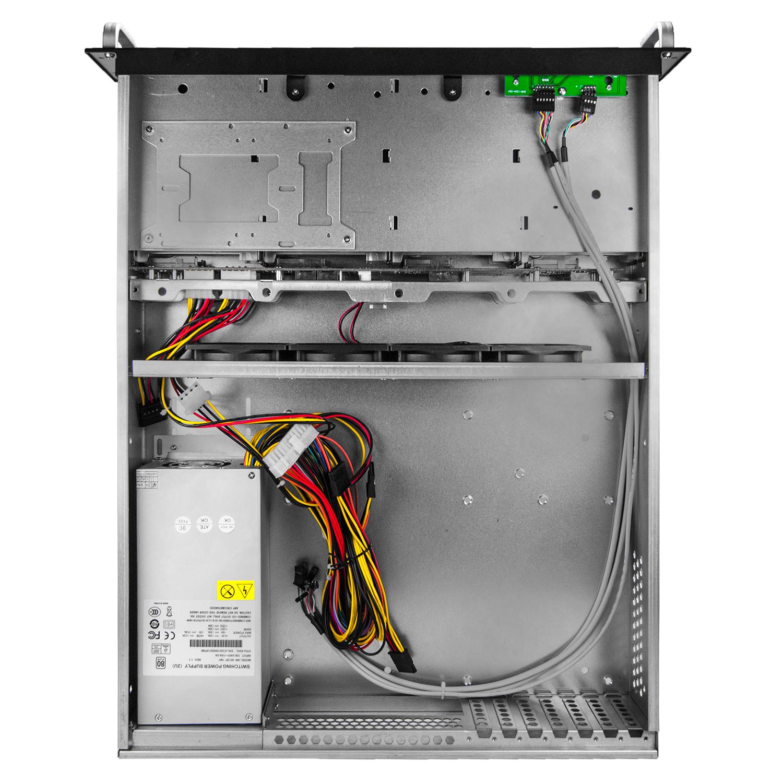 Серверный корпус 2U NR-R2008 2*600Вт 8xHot Swap SAS/SATA (ATX 10x12, 550mm), черный,Negorack