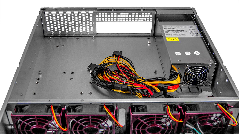Серверный корпус 2U NR-R216 800Вт 6xHot Swap SAS/SATA, 5.25x2ext (EATX 12x13, 650mm) черный