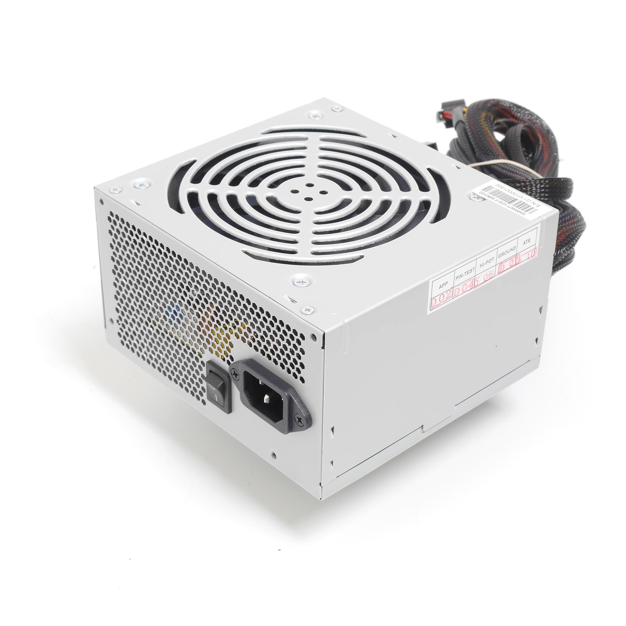 Блок питания ATX 600Вт NR-PSU6001 (24pin+8pin) 12mm fan, PS/2, EPS12V, Negorack