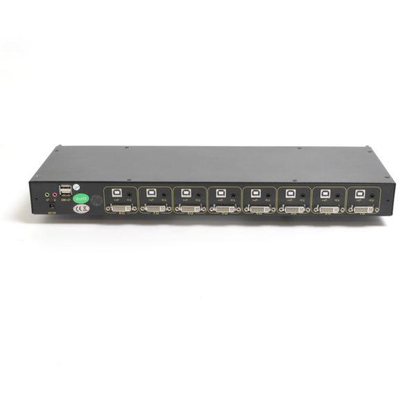 Модуль для КВМ консоли в серверную стойку, порты