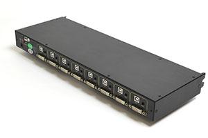 Модуль для КВМ консоли в серверную стойку