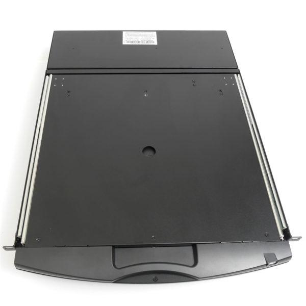 8-портовый КВМ переключатель с ЖК-дисплеем перевернутый