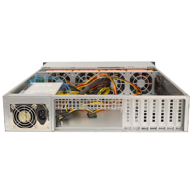 Серверный корпус 2U NR-R218 400Вт 8xHot Swap SAS/SATA (EATX 12x13, Slim CD, 650mm), черный, Negorack
