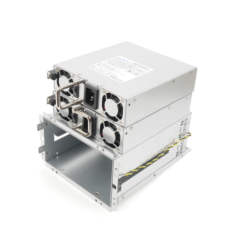 Блок питания ATX NR2-MVR500-N 2x500Вт с резервированием, КПД 80%, PFC, EPS12V, PS/2, Negorack