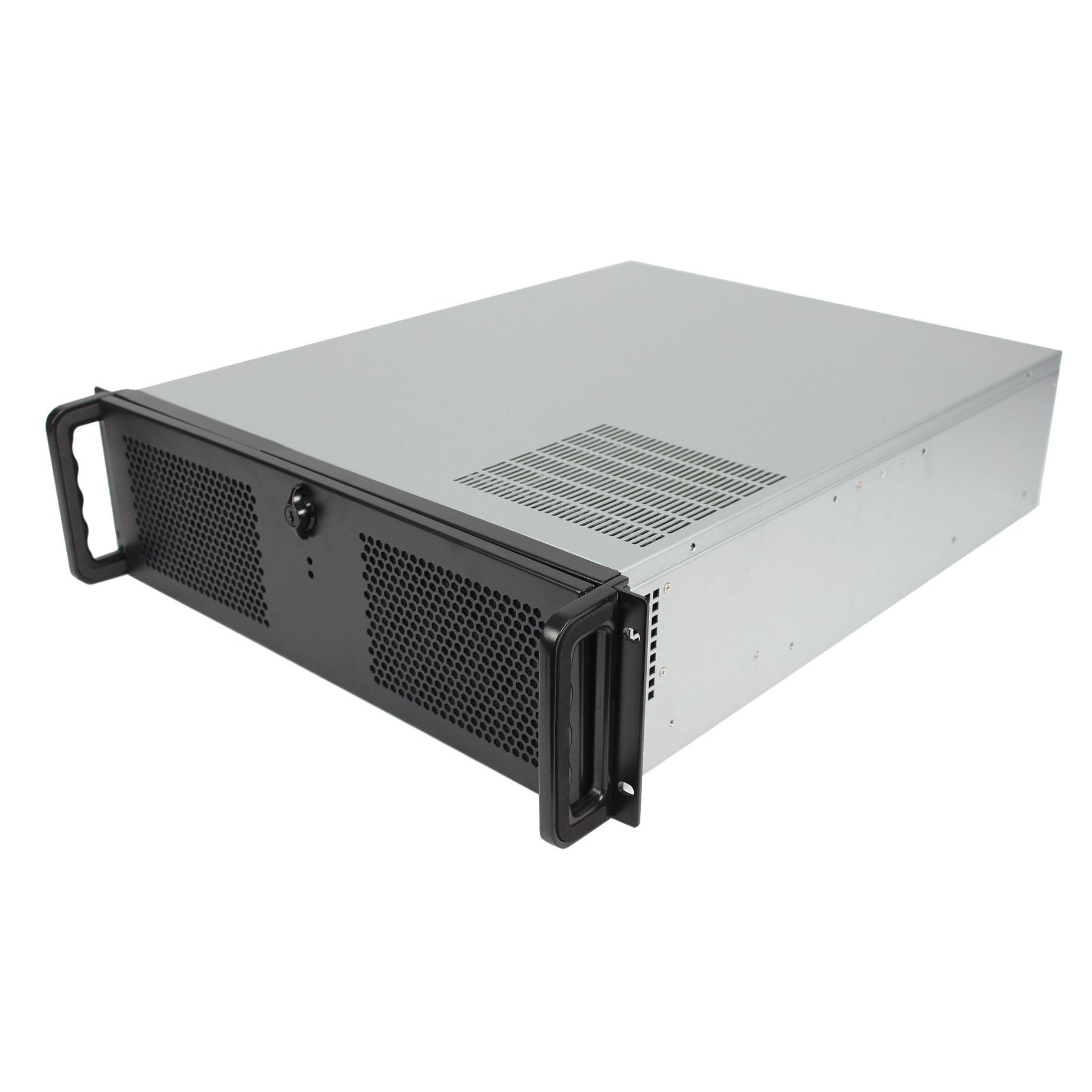 Серверный корпус 3U NR-N355-2D 850Вт (EATX 12x13, 4x5.25ext, 6x3.5int, 550мм)черный,NegoRack