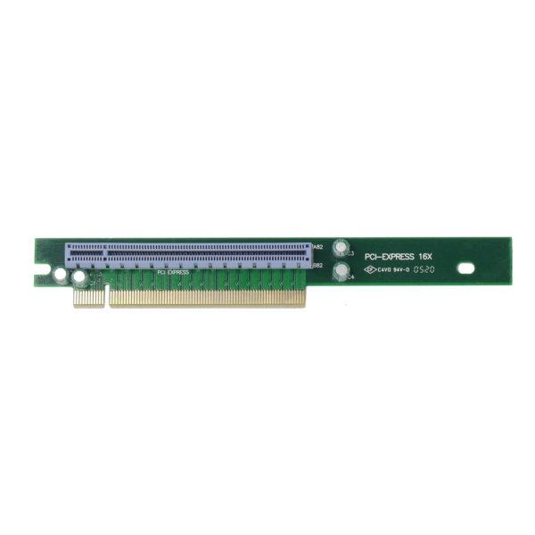 1U PCI-express x16 Single Slot Riser Card, RC1-E16