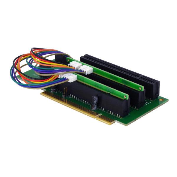 2U PCI 32Bit 3xSlot PCI 32bit  Riser Card, NR-RCPCI2U