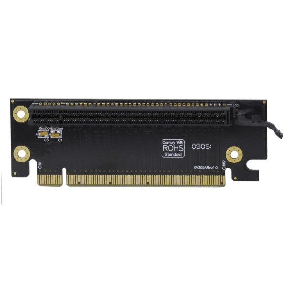 2U PCI-express 16x Single slot riser card, RC2-E16