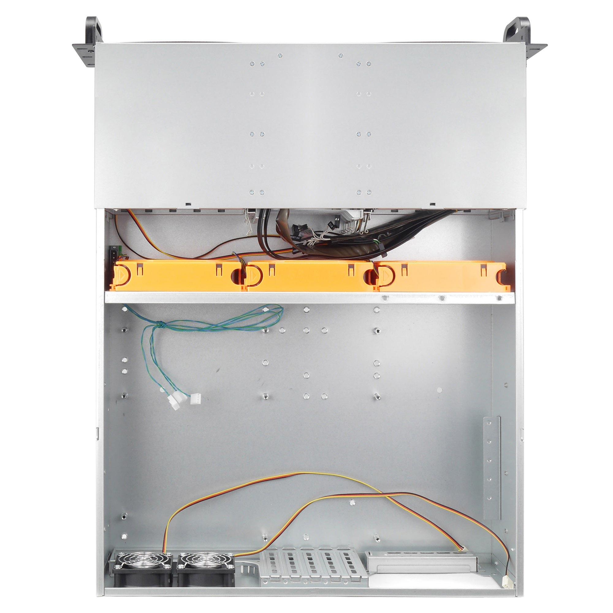 Серверный корпус 3U NR-N314 750Вт (EATX 12x13, 3x5.25ext, 4x3.5ext, 5х3.5int, 550мм), NegoRack
