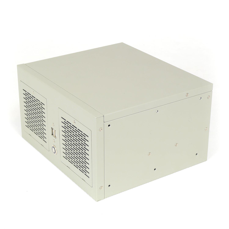 """Компактный корпус NR-W52 (ATX 9.6x9.6, БП Flex, 1х3.5"""" (2x2.5""""), 263x146x230мм, бежевый, Negorack"""