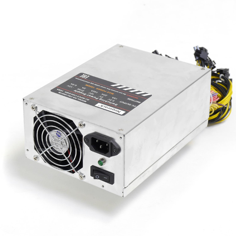 Блок питания ATX 1800Вт NR-PSU18001 (24pin+8pin,PCI-E 8pin x6, IDE x6, SATA x4) PS/2, PFC, Negorack