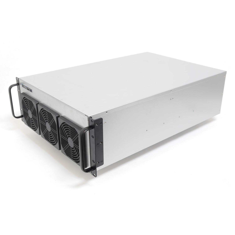 Корпус для майнинг фермы 4U NR-M48 1600Вт (6xGPU или 8хGPU, 12x9.6, 1x3.5int), 650mm, NegoRack