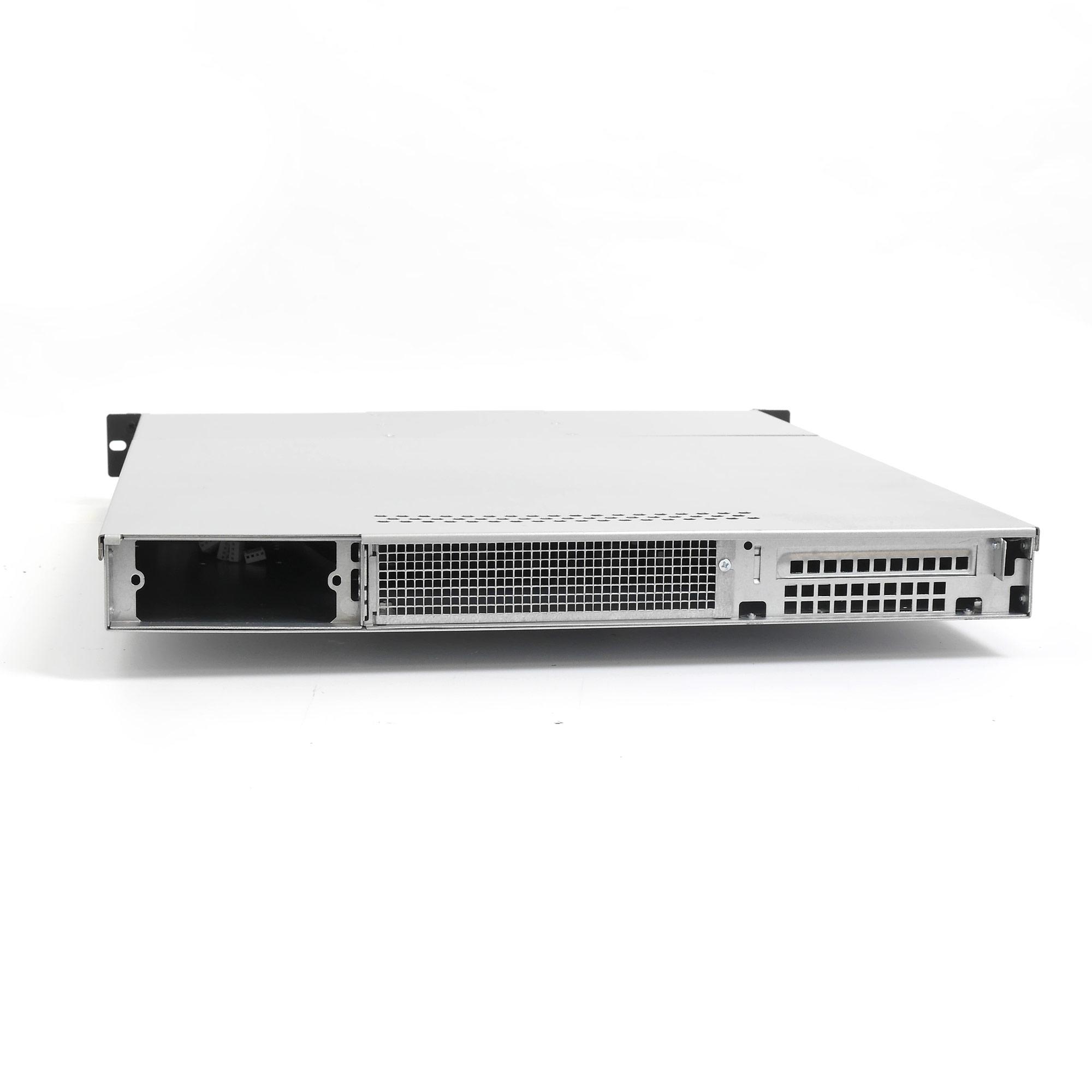 """Серверный корпус 1U NR-D155 2*300Вт (ATX 10.5x12, 2х5.25, 3x3.5""""int, 550mm), черный, NegoRack"""