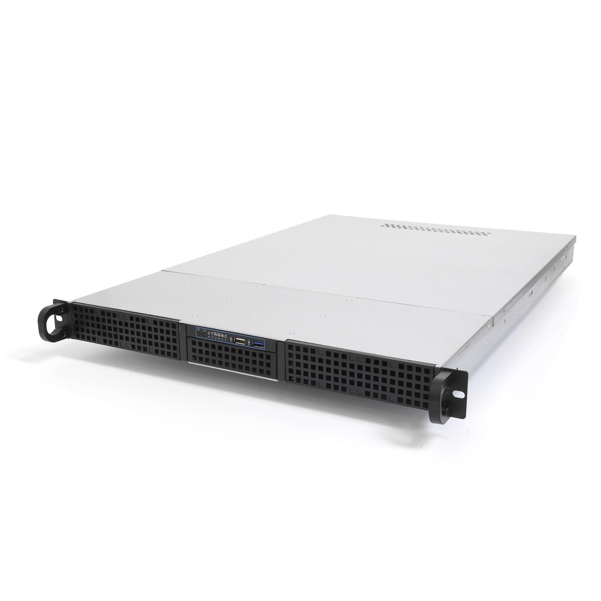 """Серверный корпус 1U NR-D165 300Вт (EATX 12x13, 2х5.25, 3x3.5""""int, 650mm), черный, NegoRack"""