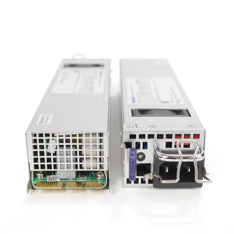 Блок питания ATX NR2-HVR400-N rev2 2x400Вт с резервированием, КПД 94% PFC, EPS12V, 1U, Negorack