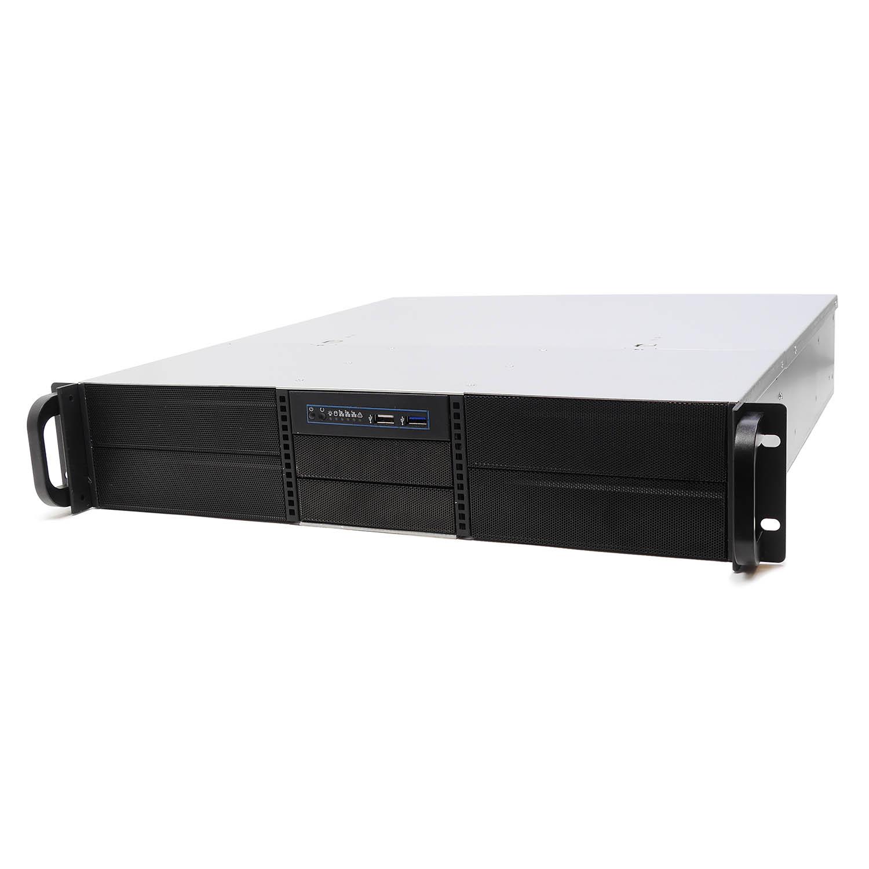 Серверный корпус 2U NR-N2444 (EATX 12x13, 4x5.25ext (5x3.5int), 2x3.5int, 480mm), чёрный, NegoRack