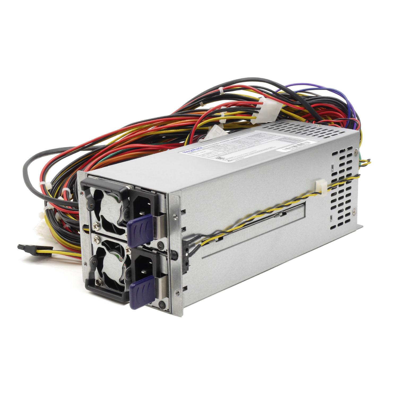 Блок питания ATX NR2-DVR600-N rev3 2x600Вт с резервированием, КПД 94% PFC, EPS12V, 2U, Negorack