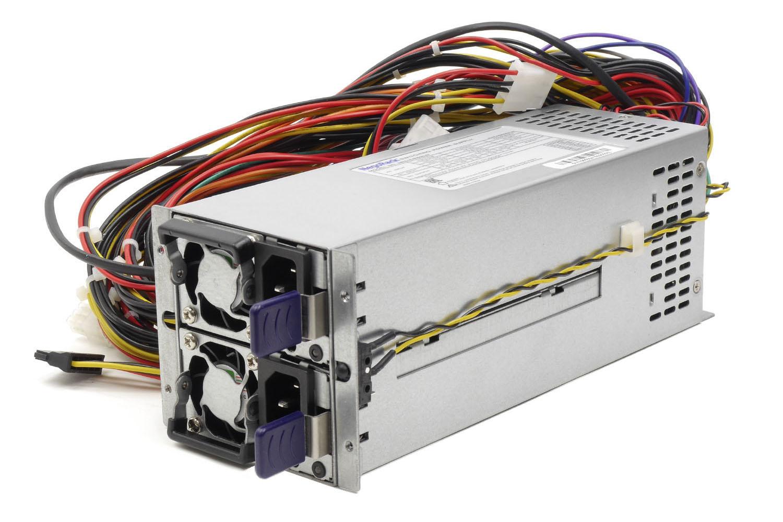 Блок питания ATX NR2-DVR1000-N Rev3 2x1000Вт с резервированием, КПД 94% PFC, EPS12V, 2U, Negorack