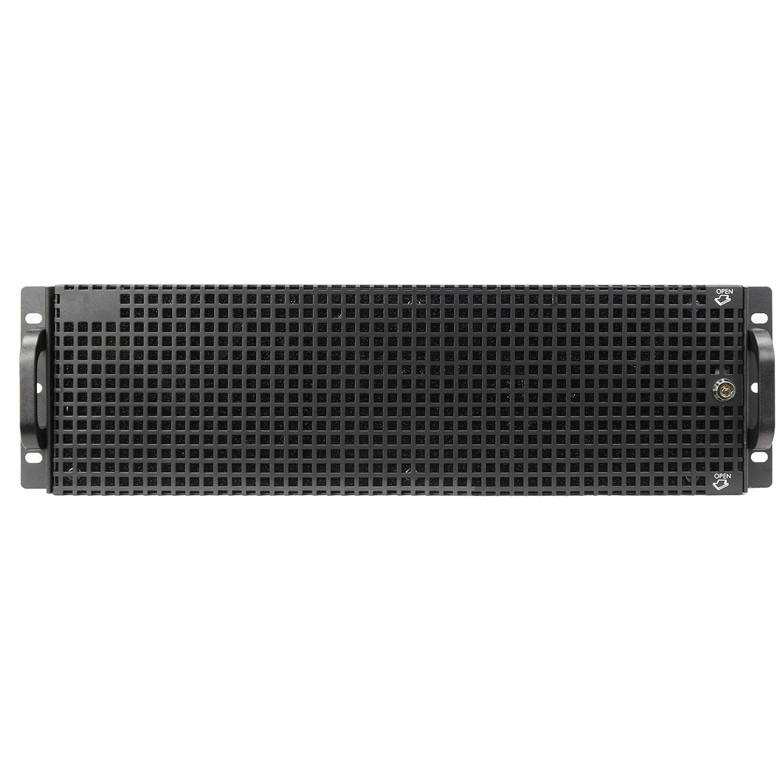 Передняя дверца с фильтром для корпусов 3U,  серии NR-R, NR-RD-3U, Negorack