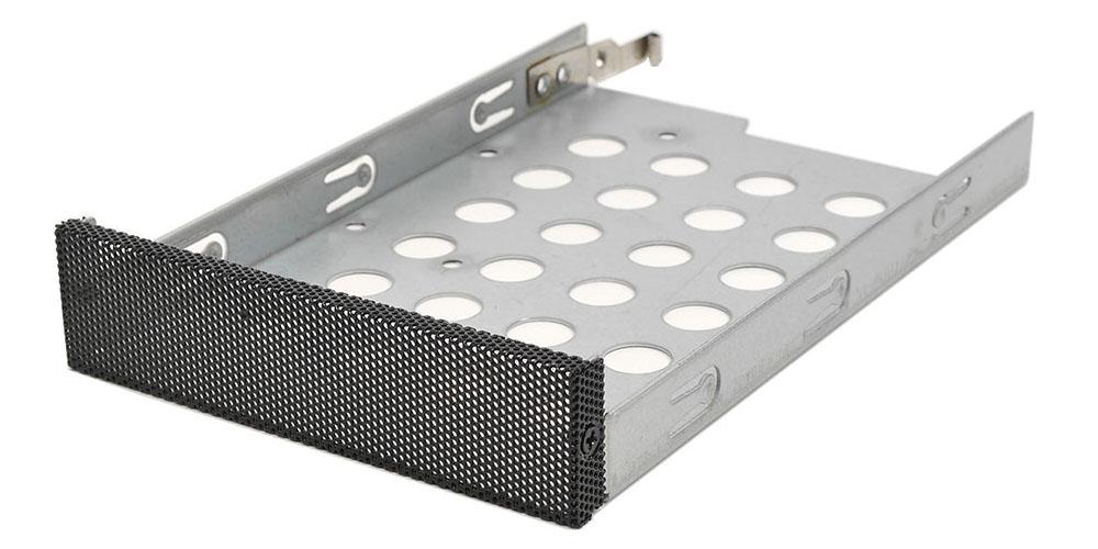 """Переходник (салазки) 1х3.5"""" или 1х2.5 в 3.5"""" для HDD, черный, передняя панель, NR-23, Negorack"""