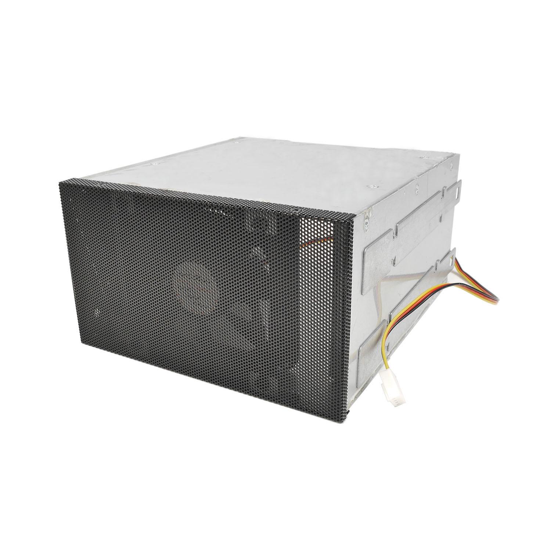 """Переходник (салазки) 3х3.5""""  в 2х5.25"""" для HDD, черный, передняя панель, NR-335, Negorack"""