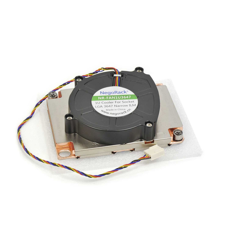 Вентилятор 1U для Socket LGA 3647 активный кулер, TDP 205W, NR-FAN1U3647