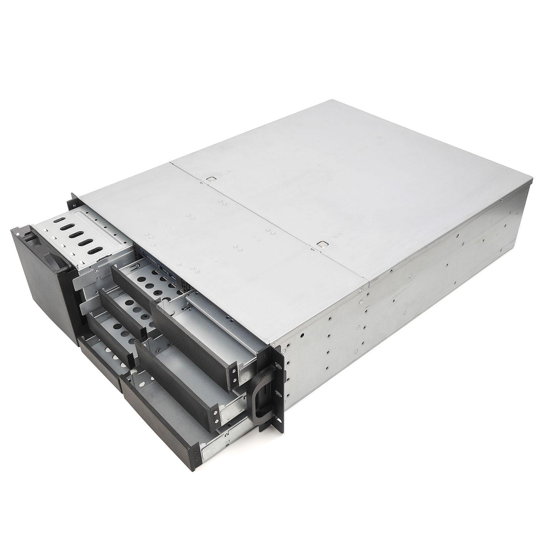Серверный корпус 3U NR-N3014 (EATX 12x13, 3x5.25ext, 4x3.5ext, 5х3.5int, 480мм), черный, NegoRack