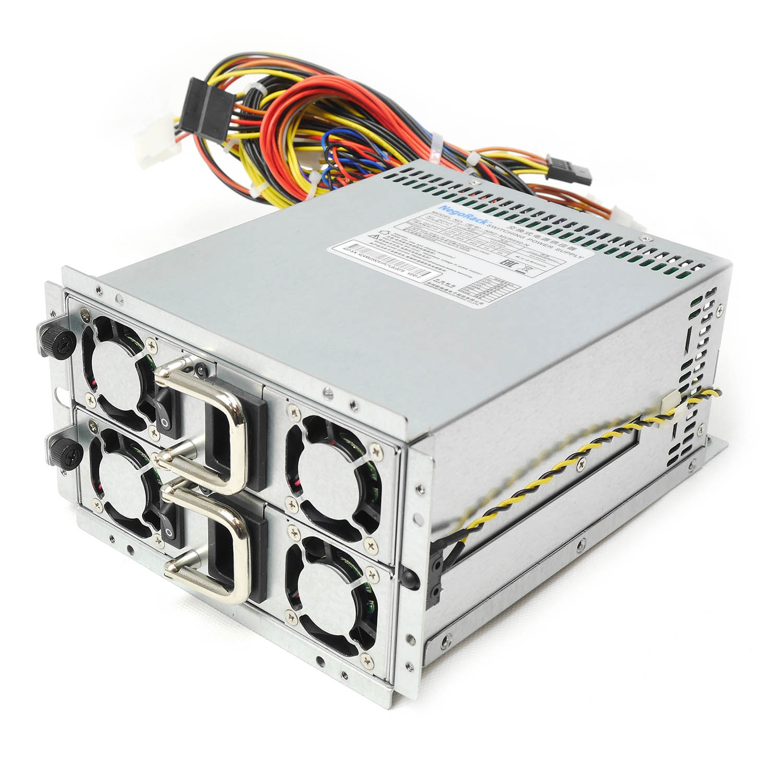 Блок питания ATX NR2-MVR650-N 2x650Вт с резервированием, КПД 80%, PFC, EPS12V, PS/2, Negorack