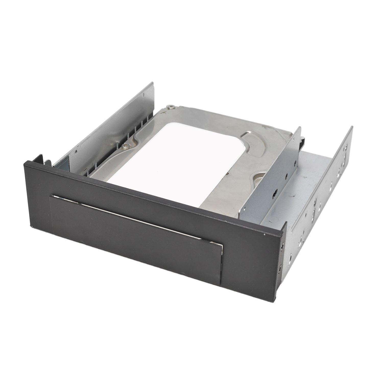 """Переходник (салазки) 1х3.5"""" HDD, передняя панель с внешним отсеком, NR-353, черный, Negorack"""