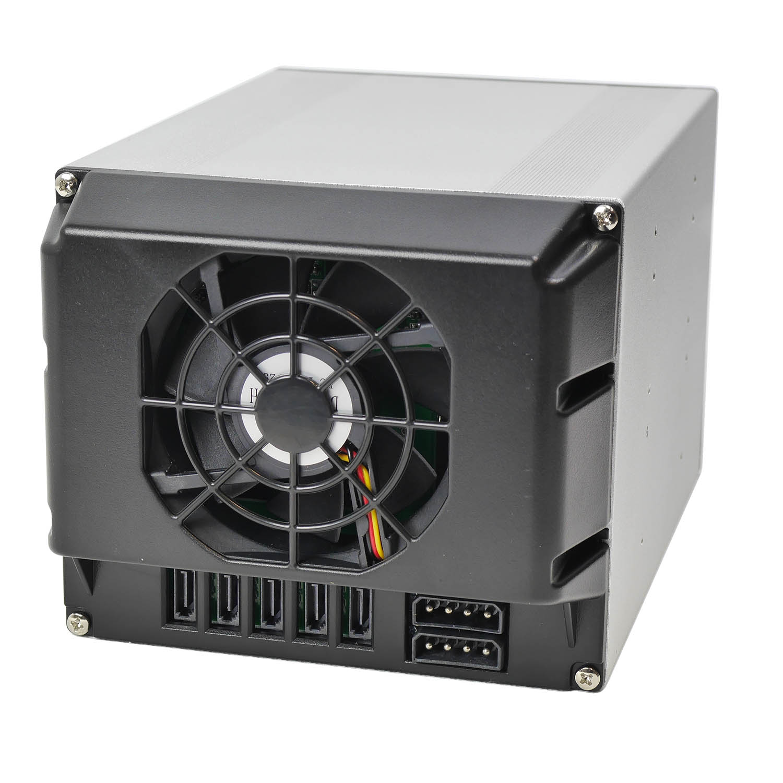 "Корзина NR-BP553 3x5,25"" с функцией ""горячей замены"" для 5х3.5"" SAS/SATA HDD,металл,черная,Negorack"
