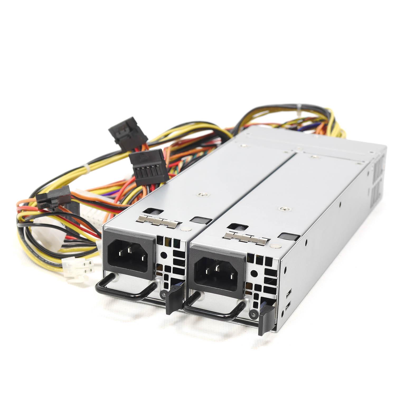 Блок питания ATX NR2-HVR500-N rev2 2x500Вт с резервированием, КПД 95% PFC, EPS12V, 1U, Negorack