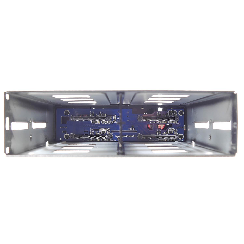 "Корзина NR-49SS-MS 1 x 5.25"" с салазками ""горячей"" замены для 4 х 2,5"" SAS/SATA, 12Gb, SFF-8643"