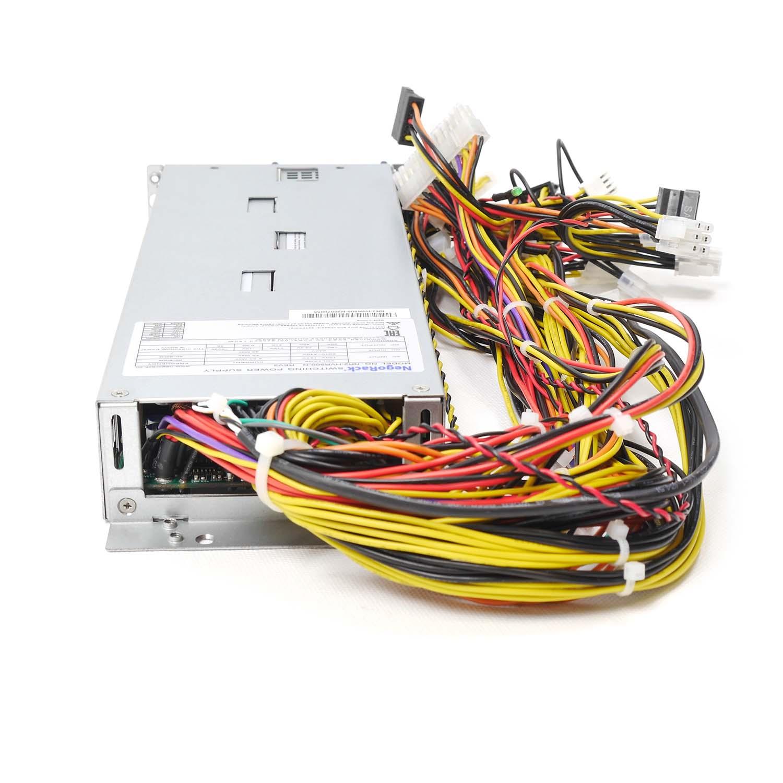 Блок питания ATX NR2-HVR500-N rev3 2x500Вт с резервированием, КПД 95% PFC, EPS12V, 1U, Negorack