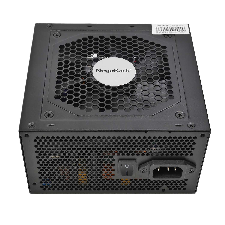 Блок питания ATX 750Вт NR-PSU7501 rev4, PS/2, EPS12V, активный PFC, Negorack