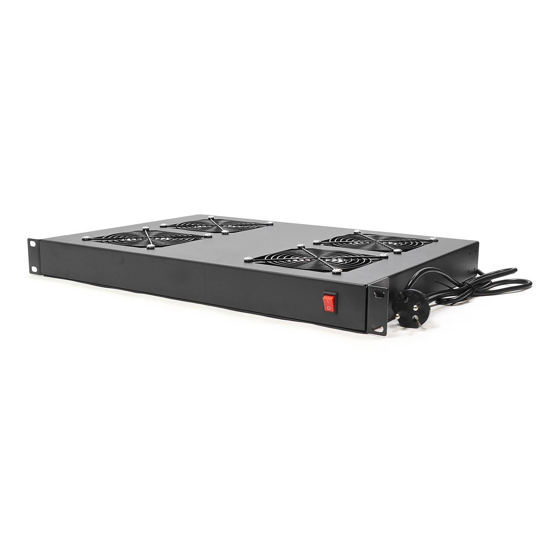 Система охлаждения вентиляторная полка 1U RackPro FSDY4FN (4 вентилятора) для серверной стойки