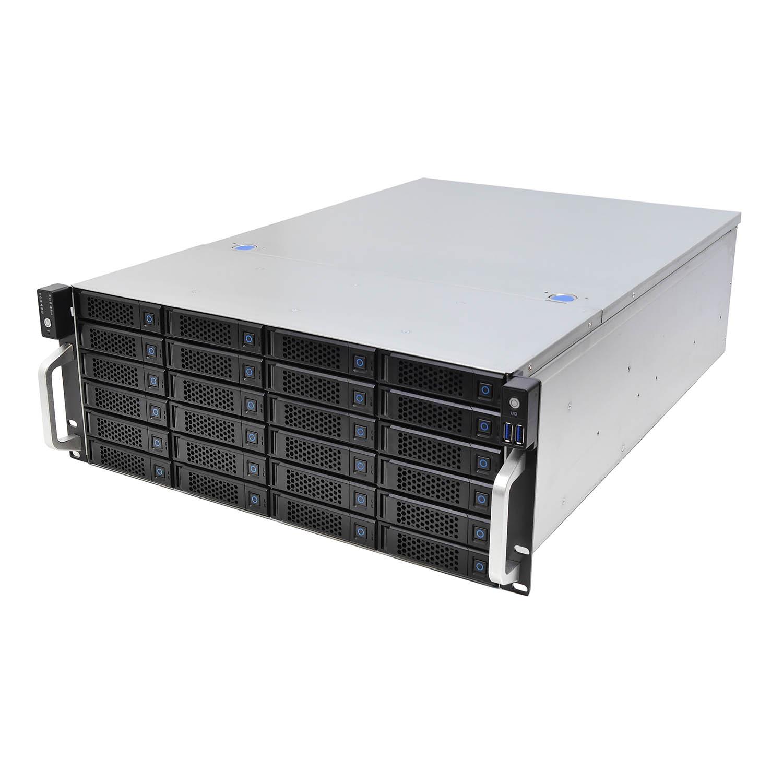 Серверный корпус 4U NR-H424 Hot Swap 24xSAS/SATA (EATX 12x13, 650mm) черный