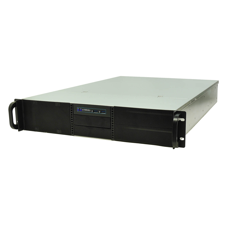 Серверный корпус 2U NR-N2644 (EATX 12x13, 4x5.25ext (5x3.5int), 2x3.5int, 650mm), чёрный, NegoRack