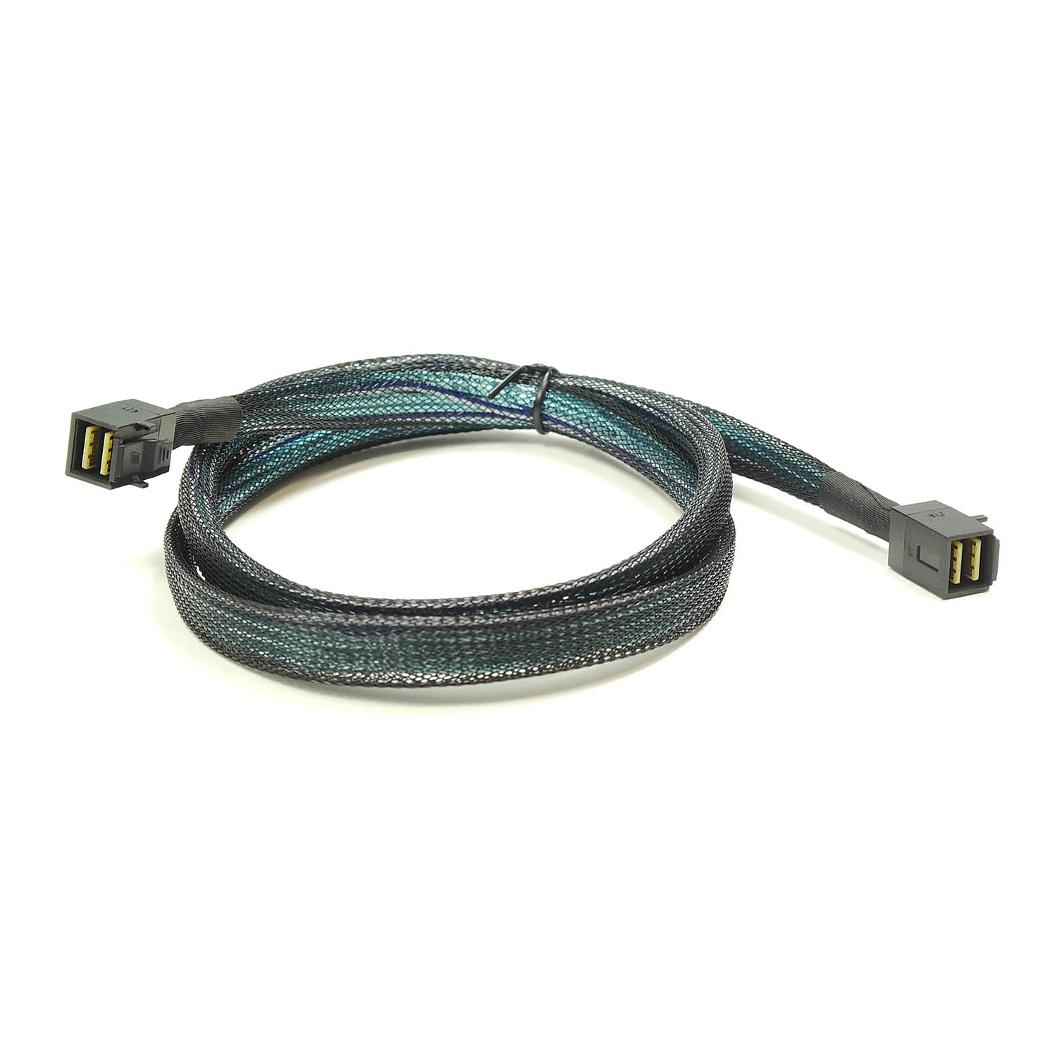 Кабель Mini SAS HD Cable, SFF-8643 - SFF-8643, длина 1 метр, SAS-048, Negorack